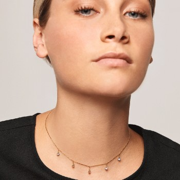 PDPAOLA| Collana in oro Halley