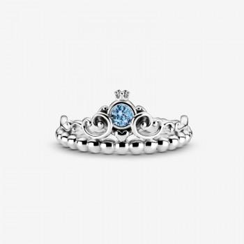 Disney, anello con tiara...