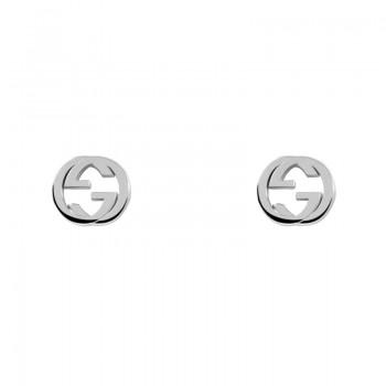 GUCCI| Orecchini GG in argento
