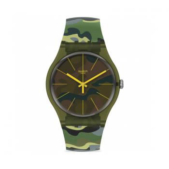 SWATCH| Essentials CamouForest